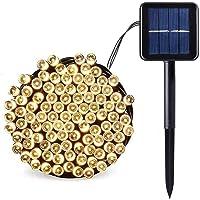 SALCAR Led-lichtsnoer op zonne-energie, 12 meter, 100 leds, decoratieve verlichting voor Kerstmis, feest, 2…