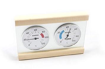 Klimamessstation Karibu Premium mit Thermometer Hygrometer
