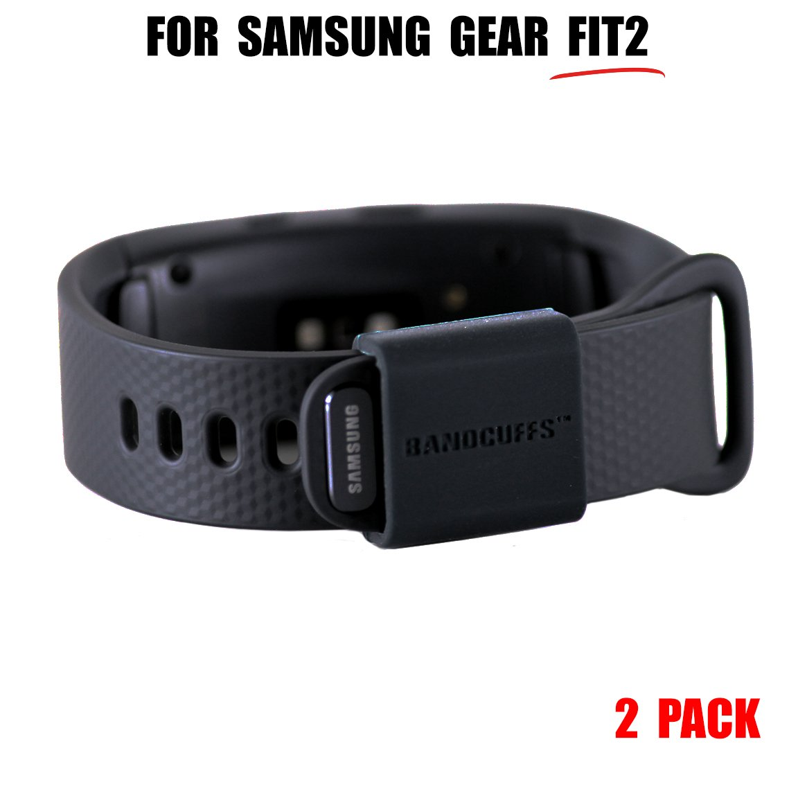 Bandcuffs Brand Security Loop for Samsung Gear Fit 2 2nd Generation Select Your Qty