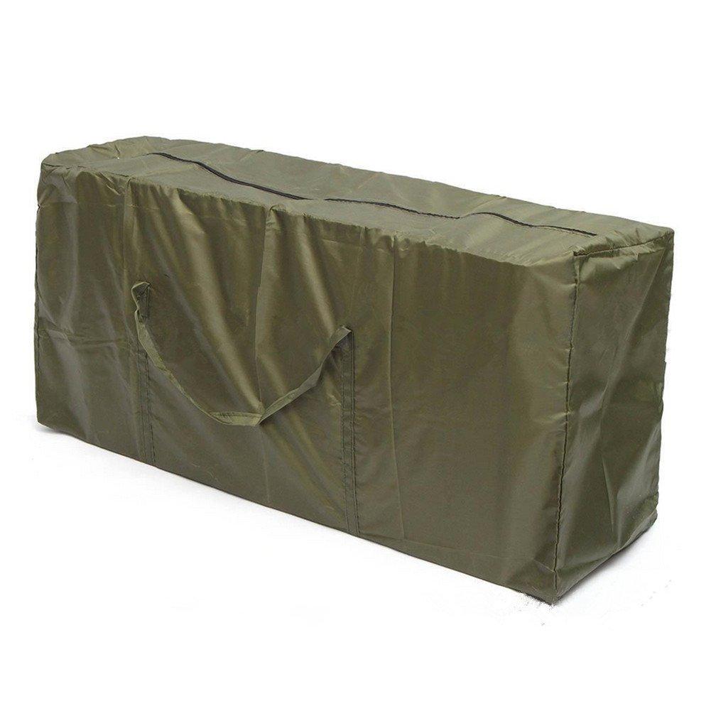 Labellevie 210D Patio Furniture Storage Bag Christmas Tree Storage Bag Furniture Seat Cushion Heavy Duty Lightweight Carry Case (122cm x 39cm x 55cm)