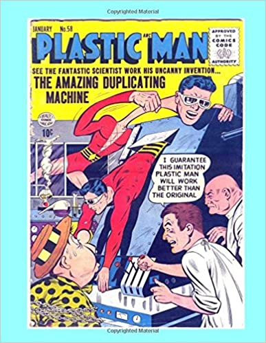 Google E-Book-Store herunterladen Plastic Man #58: Spine