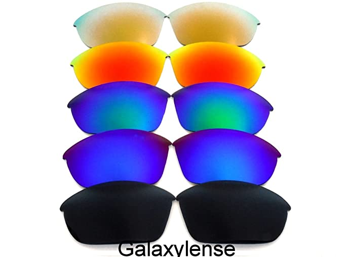 67a734498c Replacement Lenses For Oakley Half Jacket 2.0 Polarized  Black Blue Green Red Gold ...