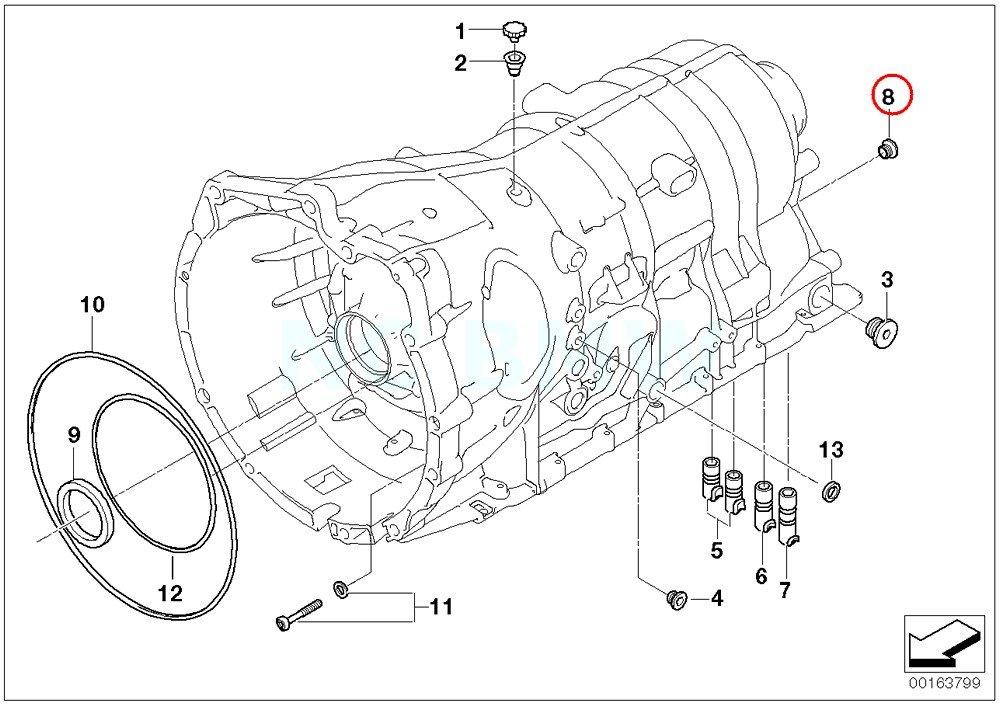 Amazon Com Bmw Genuine Screw Plug With Gasket Ring Automotive