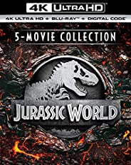 Jurassic World 5-Movie Collection (4K Ultra HD + Digital) [Blu-ray]