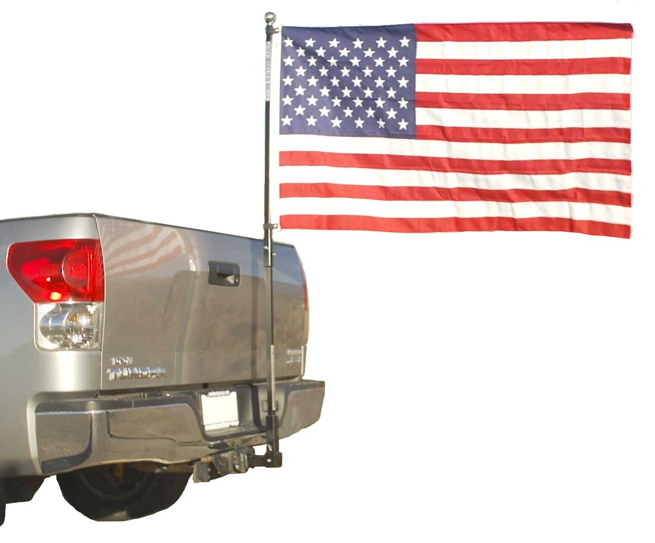 Flag Pole To Go For Trucks - Pole Mounts to Hitch- Fanpole by FanPole (Image #1)