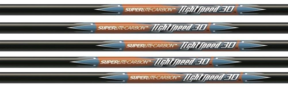 Easton Lightspeed 3D Shafts 1 Dozen 340 Spine - 612953|SL