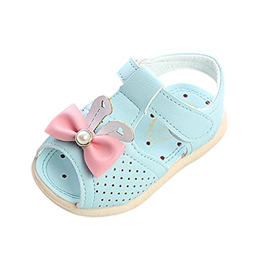 f4c169d4254ac Amazon.com: LNGRY Baby Sandals, Toddler Kids Baby Girls Hollow Out ...