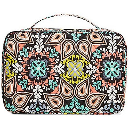 Vera Bradley Luggage Women's Large Blush & Brush Makeup Case Sierra Luggage Accessory by Vera Bradley