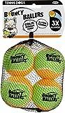 Tennis Dogs Bouncy Ballers Tennis Balls (4 Pack) - 2.5