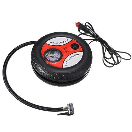 audew 12 V Mini Portable Neumáticos inflador Compresor De Aire Manómetro para Auto Moto