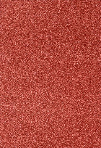 13 x 19 Cardstock - Holiday Red Sparkle (250 Qty.) | Perfect for the Holidays, Crafting, Invitations, Scrapbooking and so much more! |1319-C-MS08-250 by Envelopes.com