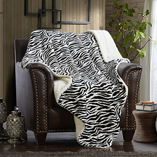 decorative sherpa throw blanket ultra
