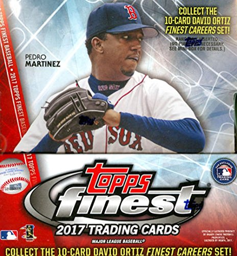 2017 Topps Finest MLB Baseball HOBBY box (12 pk)