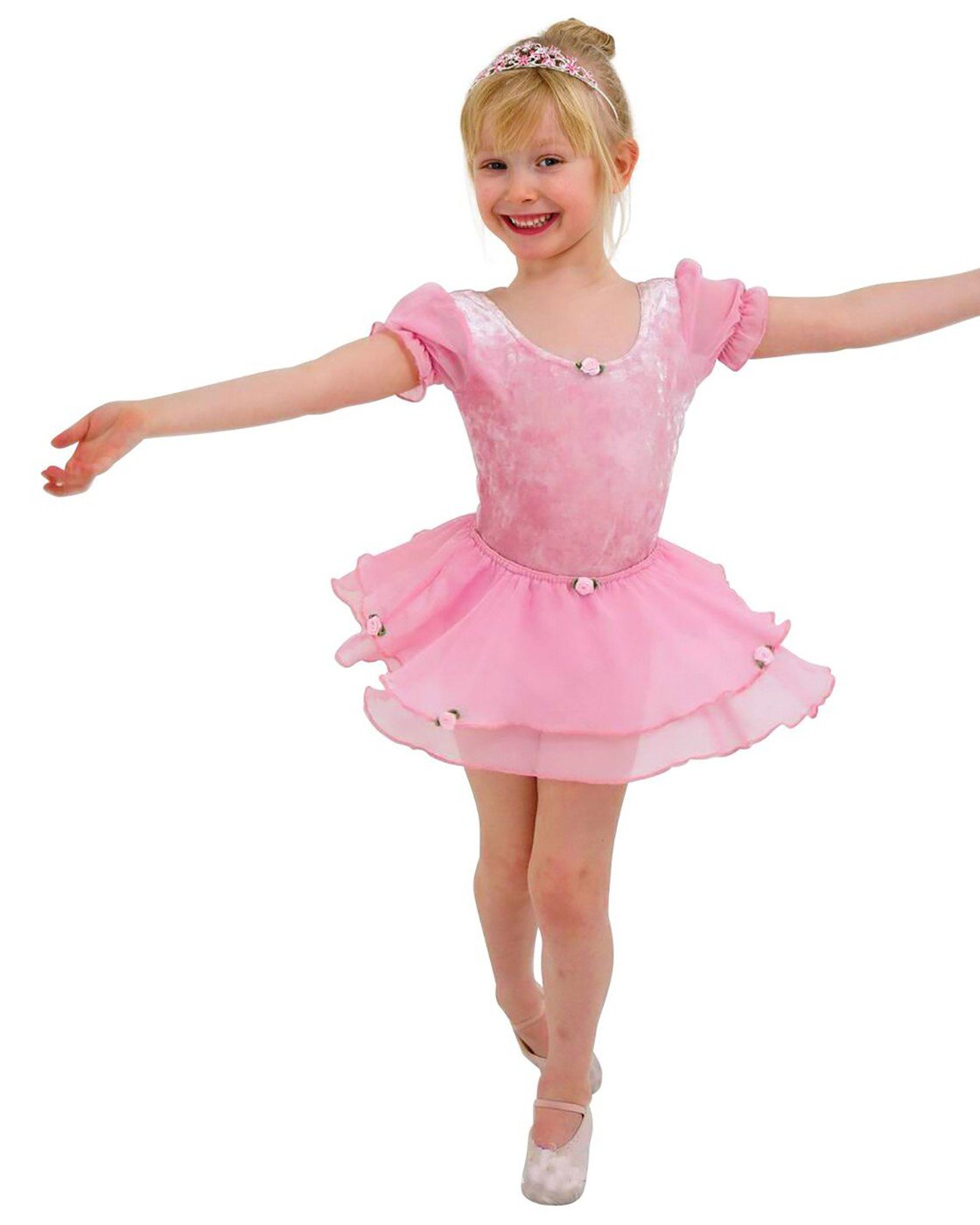 4534d5c82dbe FRILLY LILY QUALITY PINK BALLET LEOTARD DRESS COSTUME UNIFORM WITH ...