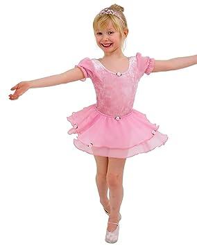 fb6a15374 BABY QUALITY PINK BALLET LEOTARD DRESS COSTUME UNIFORM WITH SKIRT 12 ...