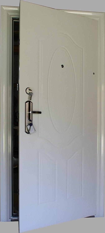 Machermann Puerta, Puerta, Seguridad Exterior, para Puerta de casa, la Puerta Izquierda y Derecha 950 X 2050 mm ...