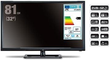 HD LED de televisor JTC 2032tt, 32 pulgadas (aprox. 81 cm) con ...
