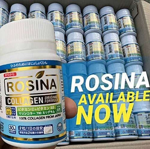 Rosina Collagen Plus 30 Count (1 Box), Collagen Tripeptide