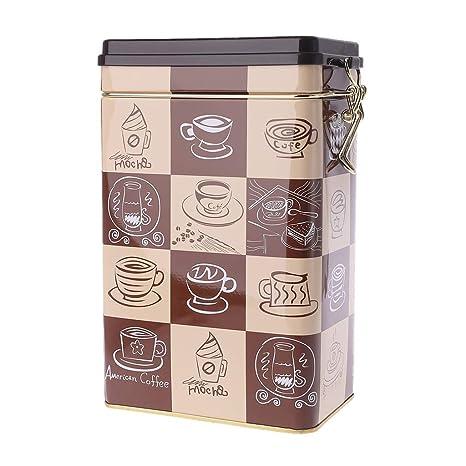 Compra WINJEE, Metal Cuadrado Caramelo Trinket Lata SeaBox ...