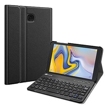 Amazon.com: Fintie - Funda con teclado para Samsung Galaxy ...