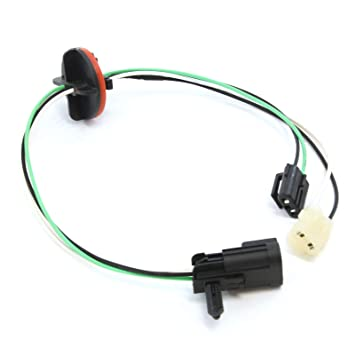Red Hound Auto 1 Headlight Lamp Wiring Harness Light Wire Compatible on