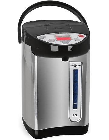 oneConcept Thermo Pot 5 litros negro/plata
