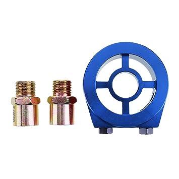 vanpower M20 + 3/4 Filtro de aceite de aluminio universal para coche, adaptador