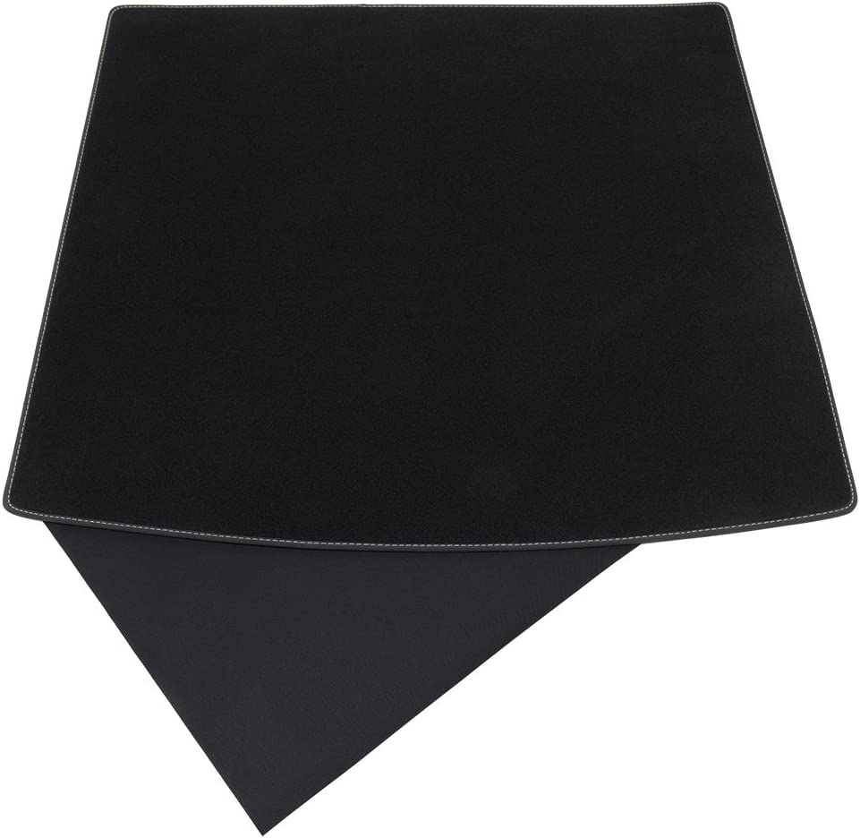 Couture:Noir teileplus24 BKF-041 Tapis de Coffre Protection Chargement 2 Part