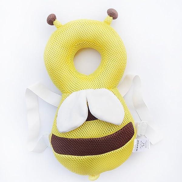 Qiao Nai Proteger la Cabeza del Bebé Almohada Alas de Protección ...