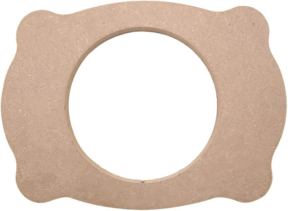 X AUTOHAUX Auto Car Vehicle Speaker Horn Wooden Spacer Pad Washer for Toyota Camry Reiz