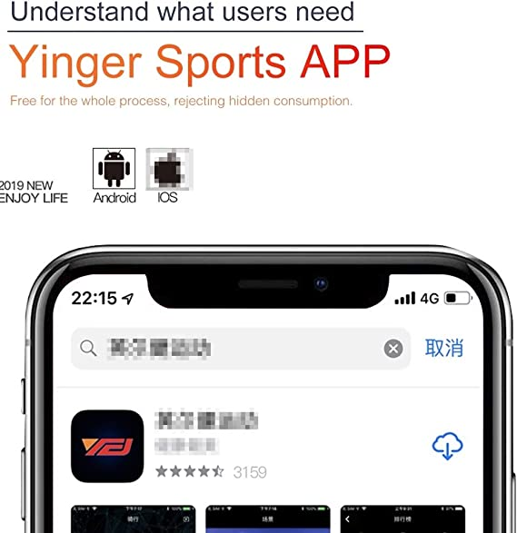 Huanglingkai para el Ejercicio Hlk QM720 hogar Inteligente Ultra ...