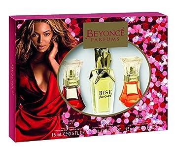 Amazoncom Beyonce Coffret 3pc Set 05oz Heat 10oz Rise 05oz