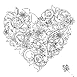 Vive Le Color! Hearts (Adult Coloring Book): Color