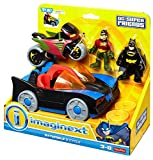 Fisher-Price Imaginext DC Super Friends, Batmobile & Cycle