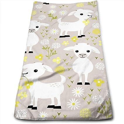 QiFfan22 - Toallas de Cocina para Gatos de bebé, Lavable a máquina, de algodón