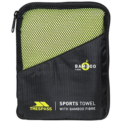 Trespass Wicker Man Bamboo Sports Towel - Green, One Size (Travel Bamboo Towel)