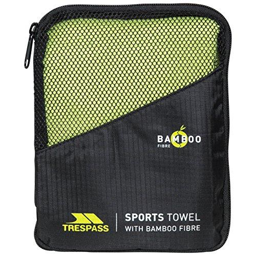 Trespass Wicker Man Bamboo Sports Towel - Green, One Size (Towel Bamboo Travel)