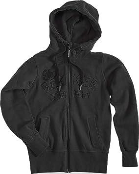 dcd4eade0fc010 Rokker TRC Women's Zip Hoodie Black, Hoodie, black, Large: Amazon.co ...