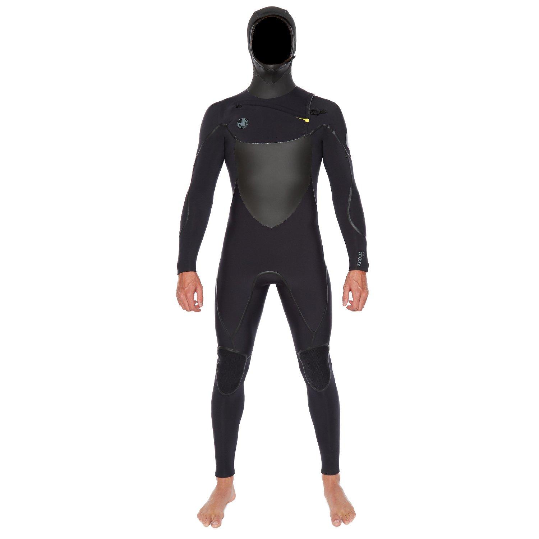 ボディグローブVoodoo Slantフード付きFullsuit 5 / 4 / 3 mm (ブラック) ウェットスーツ ブラック Medium Tall