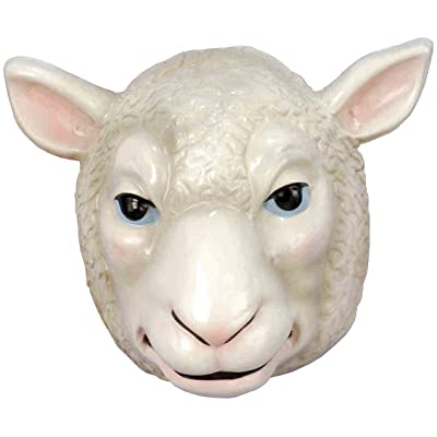 Forum Novelties Child's Plastic Animal Mask, Sheep: Toys & Games