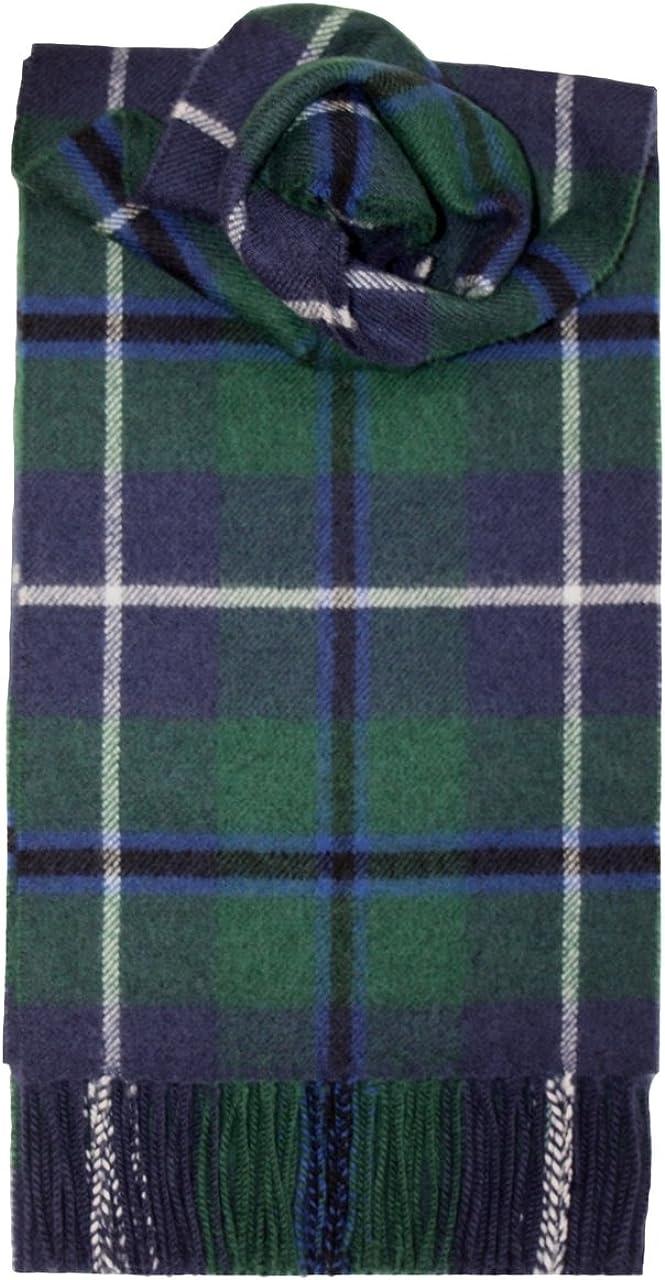 Lochcarron Douglas Tartan Lambswool Scarf