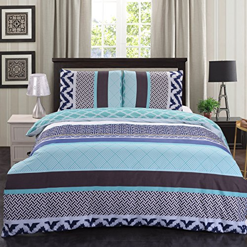 Jml Premium 3-Piece Printed Flowers Duvet Cover Set, Sumptuo