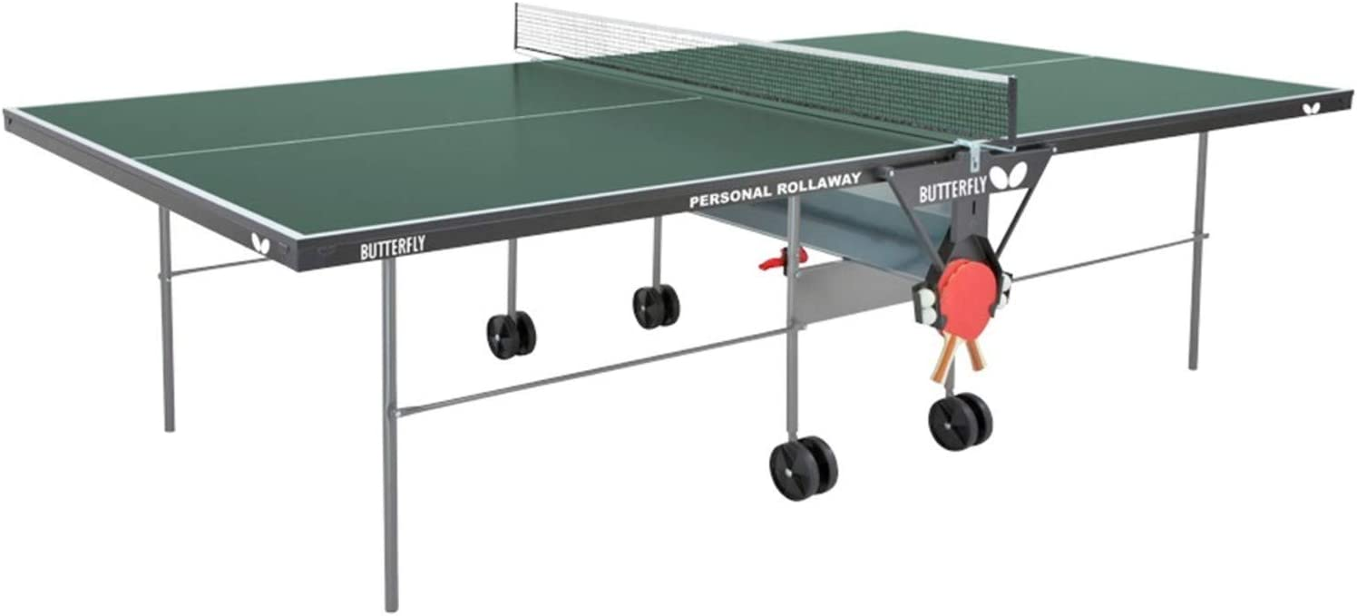 Butterfly Personal Ping Pong Table   Game Table for Kids   Butterfly Table Tennis Table Indoor   Folding Ping Pong Table   3 Year Warranty   Holder for Ping Pong Paddles and Ping Pong Balls   Free Net