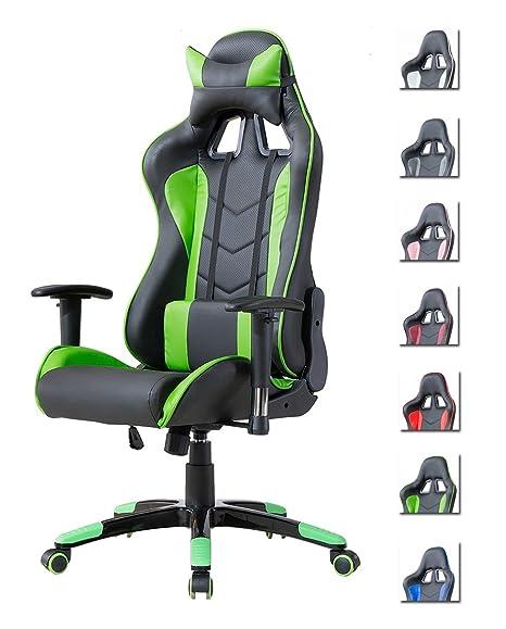 Delman Gaming Stuhl Burostuhl Racing Stuhl Schreibtischstuhl