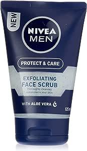NIVEA MEN Protect & Care Exfoliating Face Scrub, 125ml