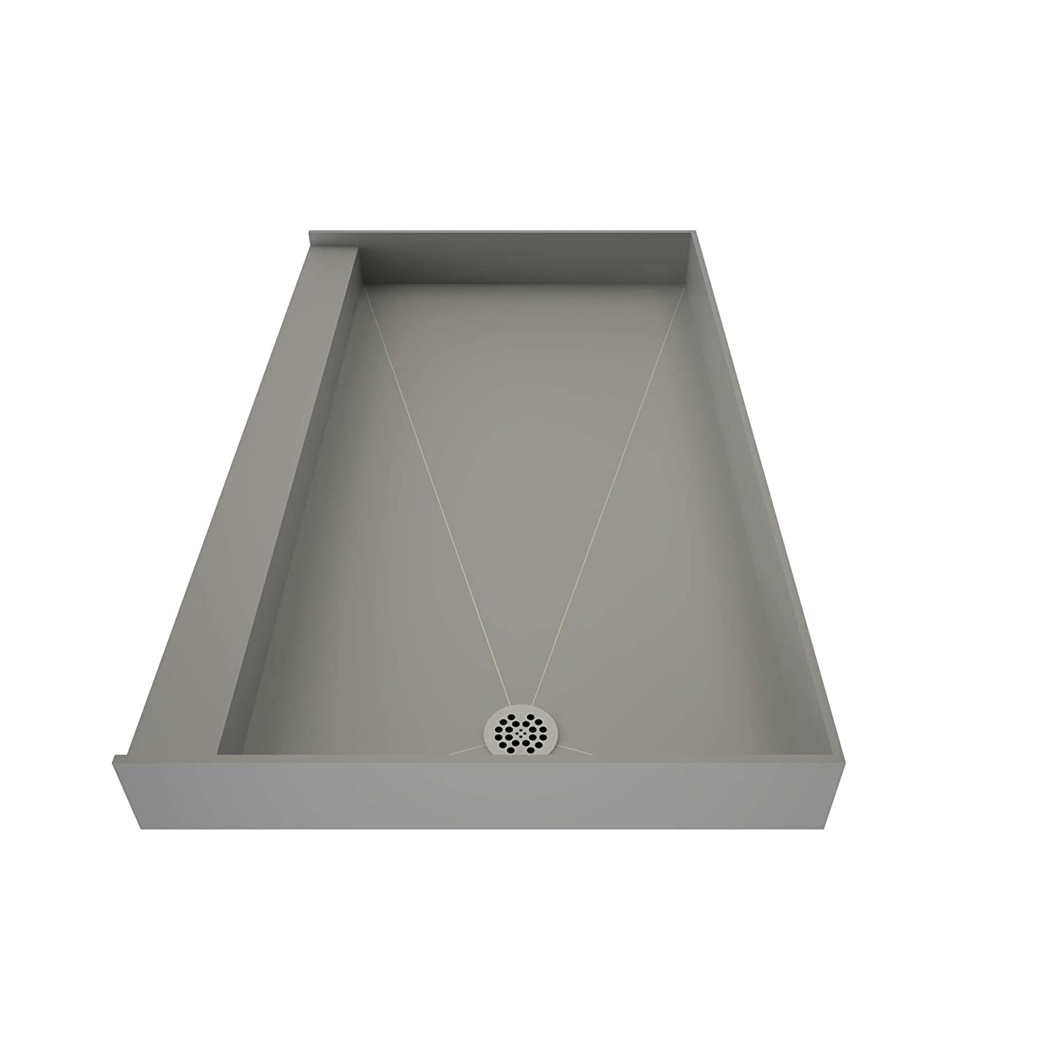 Tile Redi 3060Rbo Shower Pan with Integrated Right Hand Side Pvc ...