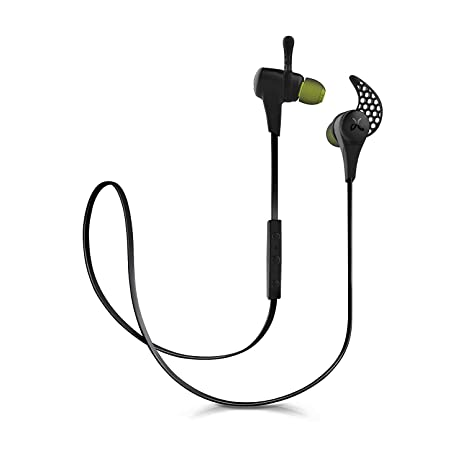 55b31e0aa7a Amazon.com: JayBird X2 Sport Bluetooth Wireless In-Ear Headphone Earbuds  with Carrying Pouch - Black (Certified Refurbished): Home Audio & Theater