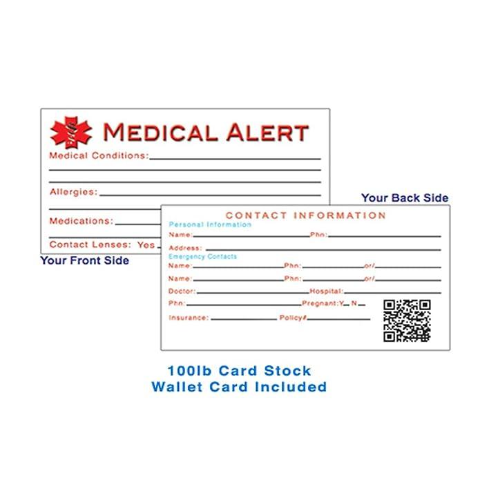 Amazon My Identity Doctor Custom Engraved Medical Alert Bracelet For Women Steel Heart 6mm