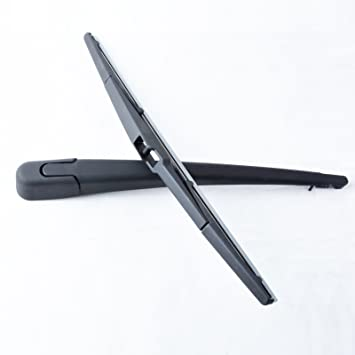 Rear Windscreen Wiper Arm + Blade para Mazda 3 MK1 BK 5 puertas Hatchback 2003 2004 2005 2006 2007 2008 2009: Amazon.es: Coche y moto