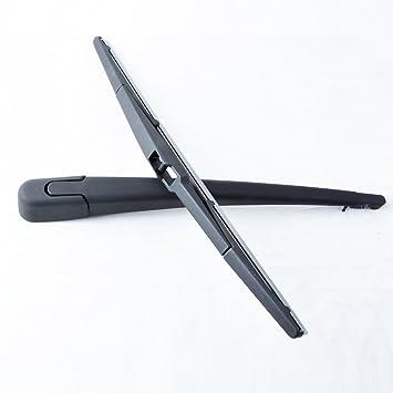 Rear Windscreen Wiper Arm + Blade para Mazda 3 MK1 BK 5 puertas Hatchback 2003 2004 2005 2006 2007 2008 2009: Amazon.es: Coche y moto